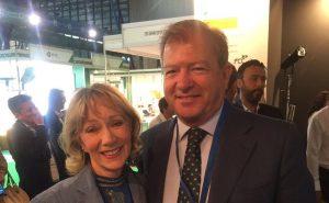 Con Sandra Baer de CIVIQ Smartscapes