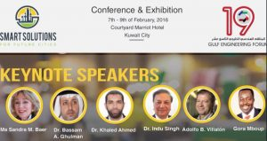 Conferencia Smart Solutions for Future Cities, Kuwait 2016